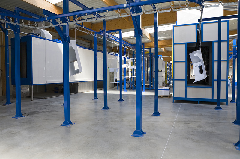 coating services facility